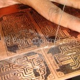 Make PCBs at Home With Toner Transfer Method