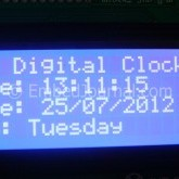 Make a Digital Clock with DS1307 and PIC 18F4520