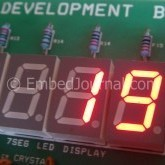 External Event Counter - Seven Segment Displays