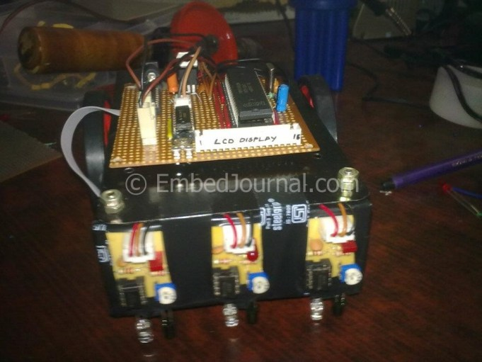 Line Follower Robot - Build it from scratch - EmbedJournal